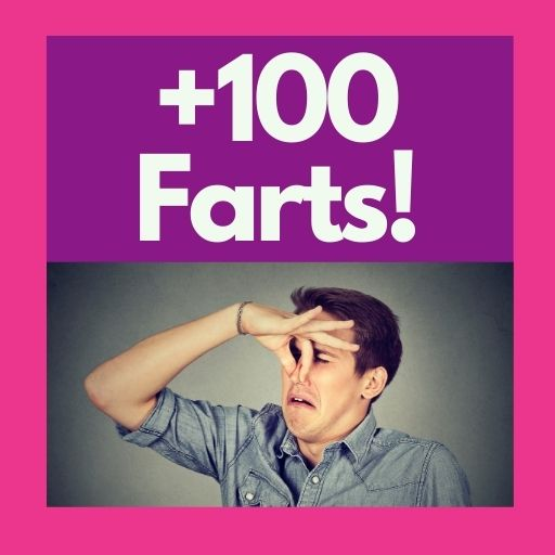 farting 100 times a day